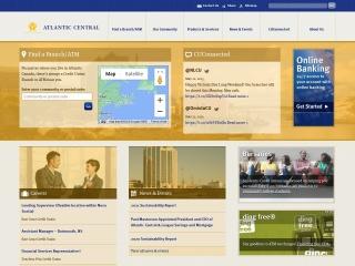 Screenshot for creditunion.nb.ca
