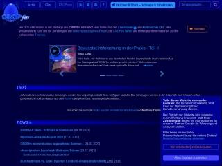 Screenshot der Website cropfm.at