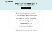 CruiserCustomizing Fast Coupon & Promo Codes