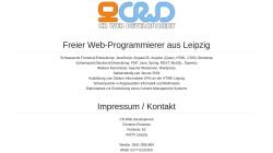 www.crwd.de Vorschau, CR Web Development, Christian Rosenau