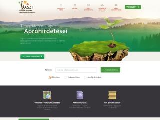 csemete.hu webhely képe
