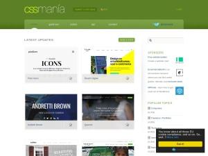 Biggest CSS Showcase all over the globe / CSSMania