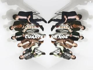Captura de pantalla para cuartetodenos.com.uy