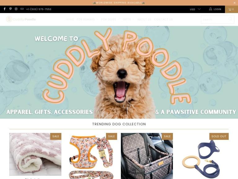 Cuddly Poodle screenshot