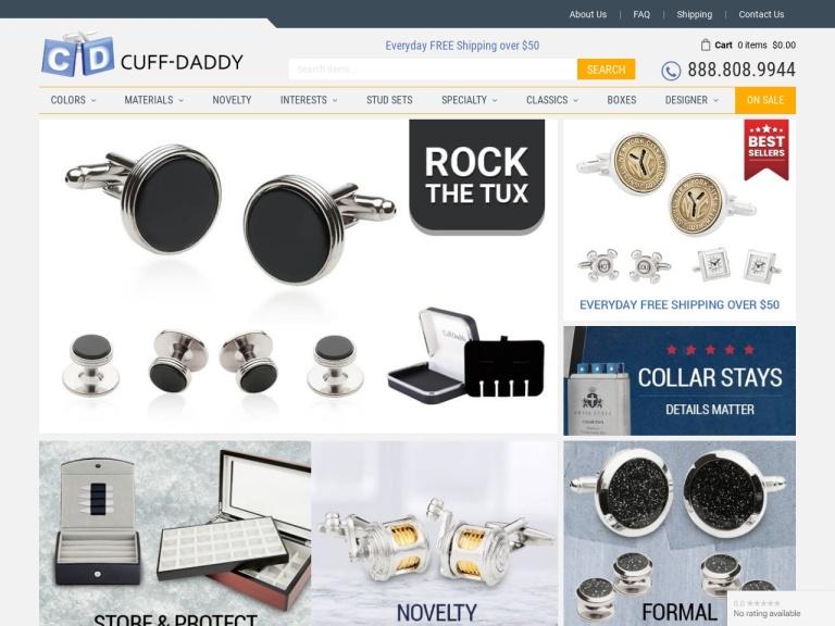 Cuff-Daddy.com screenshot