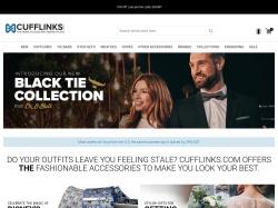 Cufflinks.com screenshot