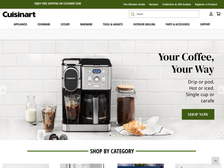 Cuisinart Webstore Coupon Codes