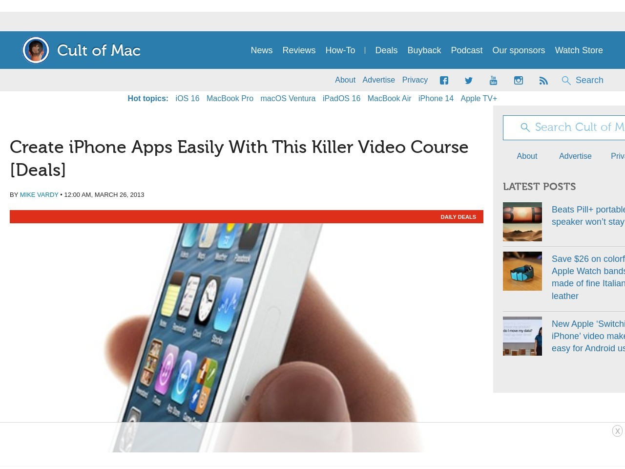Create iPhone Apps Easily With This Killer Video Course [Deals]
