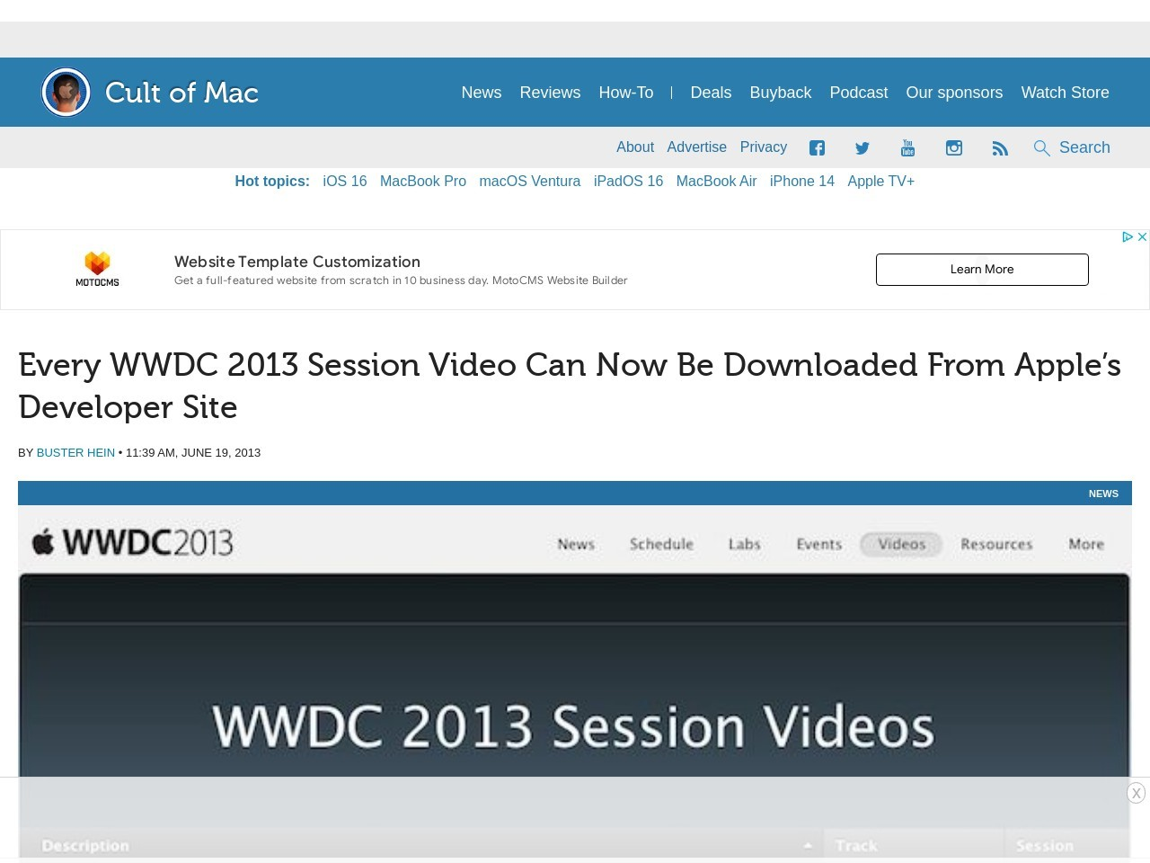 Every WWDC 2013 Session Video Can Now Be Downloaded From …