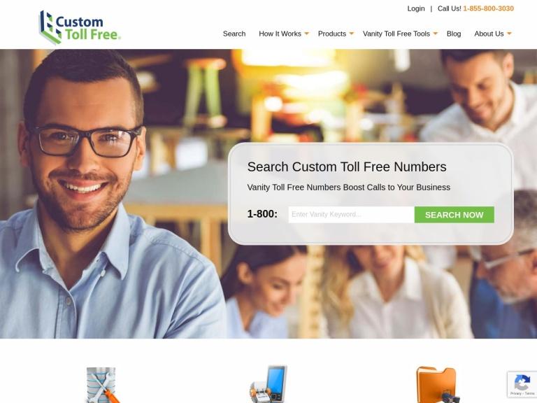 Custom Toll Free screenshot