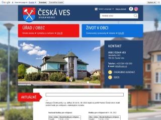 Snímek stránek pro cves.cz