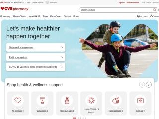 screenshot cvs.com