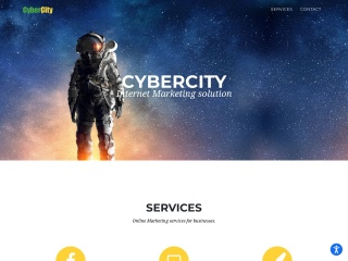 Screenshot for cybercity.co.il