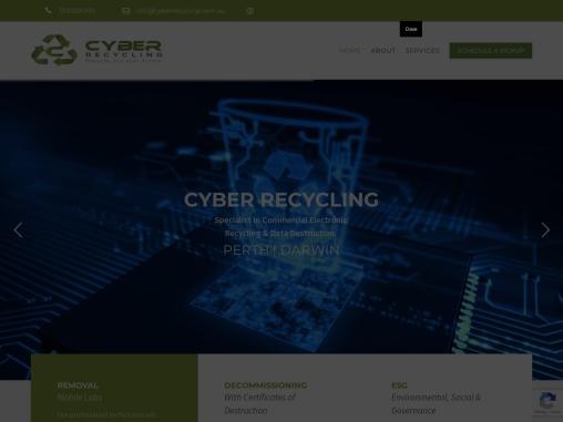Cyber Computer Recycling & Disposal PTY. LTD.
