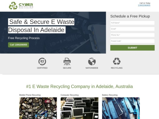 Secure E Waste Disposal in Adelaide