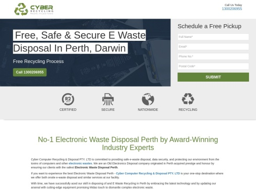 No-1 Electronic Waste Disposal Perth by Award-Winning Industry Experts