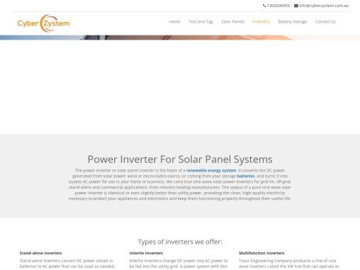 Solar Inverter Installation Company Perth