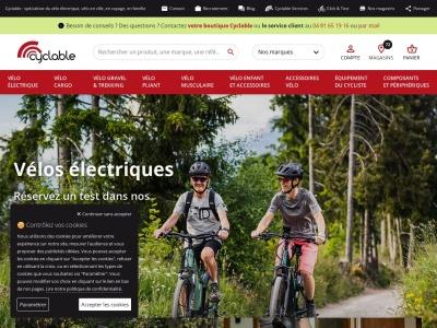 Magasin de vélos Cyclable