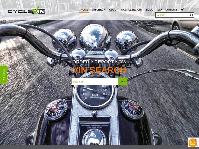 CycleVIN - Motor Vehicle VIN Search screenshot
