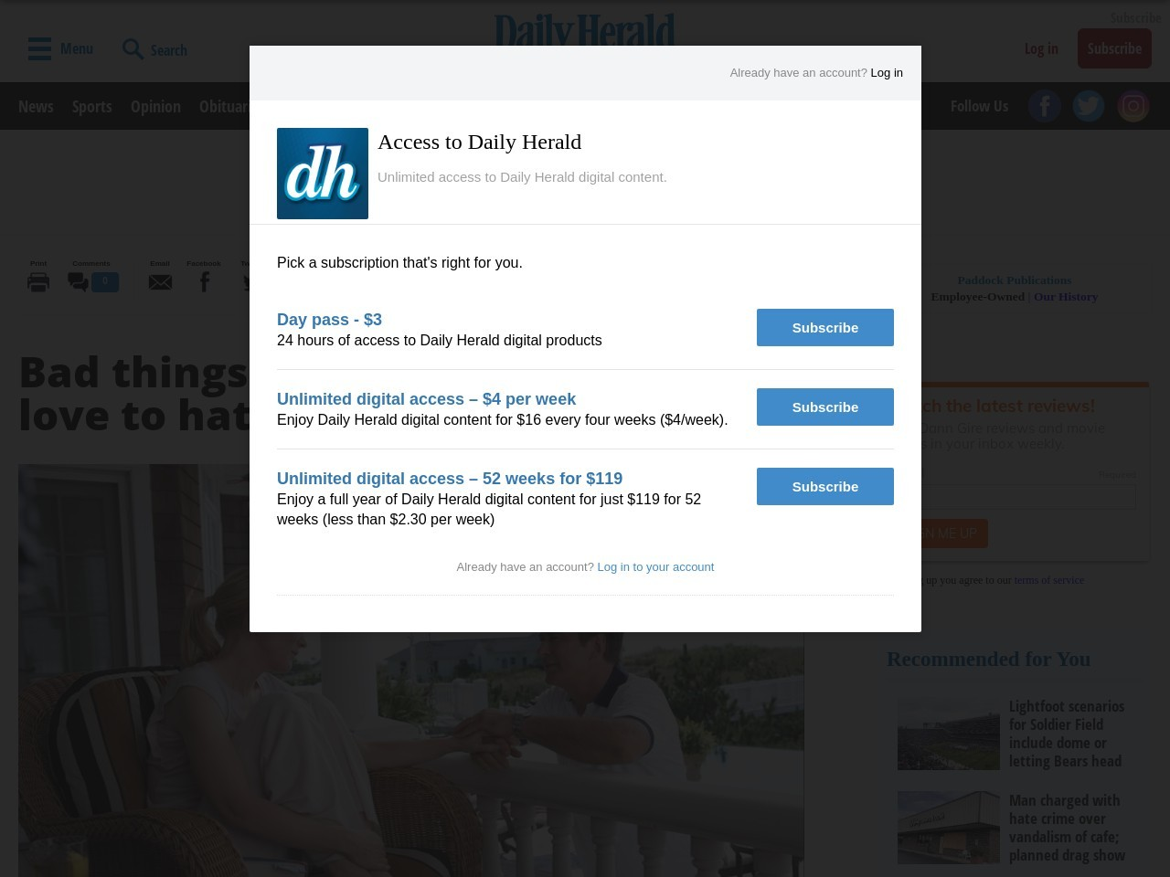 Bad things happen to characters we love to hate in 'Blue Jasmine'