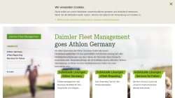 www.daimler-fleetmanagement.de Vorschau, Daimler Fleet Management Deutschland