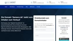 www.dameco.de Vorschau, Dameco GmbH