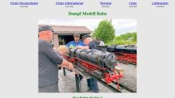 www.dampf-modell-bahn.de Vorschau, Dampf Modell Bahn
