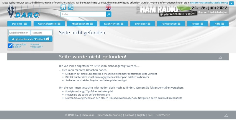 www.darc.de Vorschau, Ochsenweg-Diplom