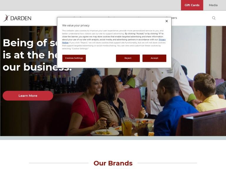 Darden Restaurants Coupon Codes