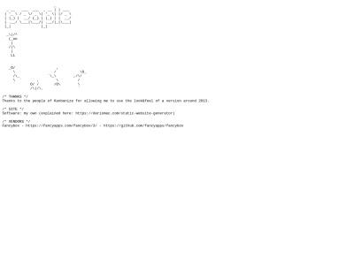 http://www.dariomac.com/humans.txt