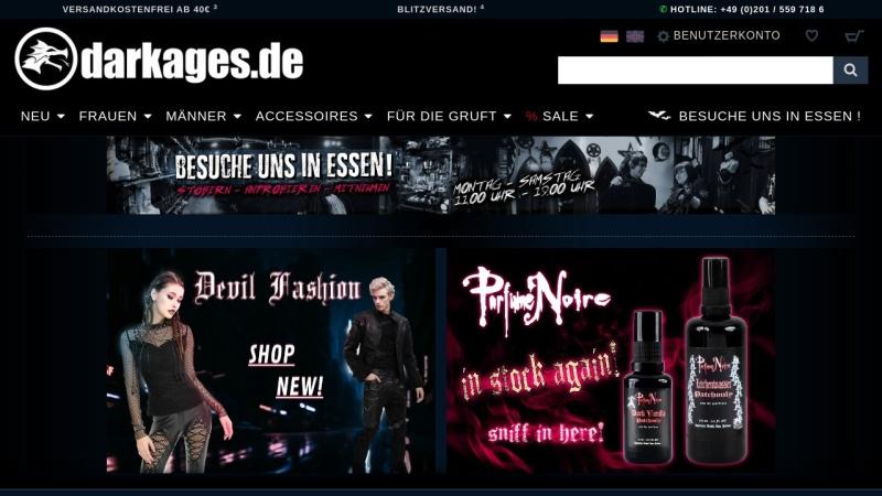 www.darkages.de Vorschau, Dark Ages, Glasche und Kuczwalska GbR