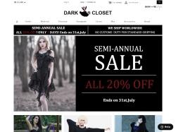 Dark in Closet