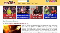www.dartn.de Vorschau, Dartsport Informationen