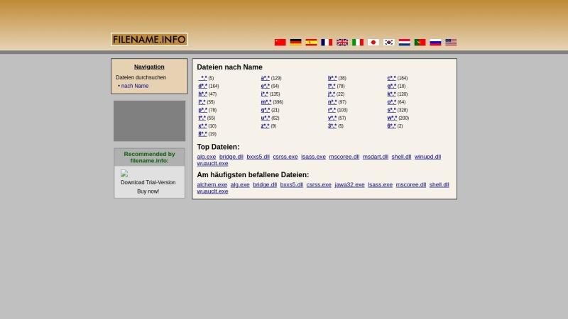 www.dateiname.info Vorschau, Dateiname.info