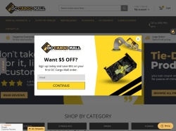 DC Cargo Mall coupon codes August 2019