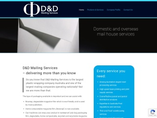 Screenshot for ddmail.com.au