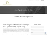 Monthly Accounting In UAE | Call Now @ +971 50 301 3616