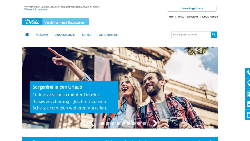www.debeka.de Vorschau, Debeka-Gruppe