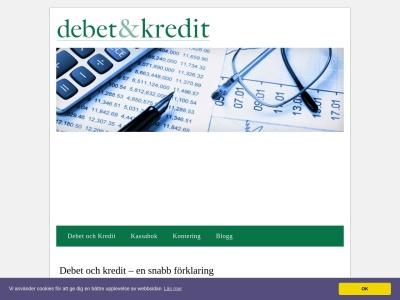 www.debetochkredit.nu