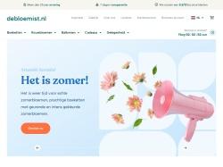 DeBloemist.nl screenshot