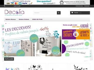 Capture d'écran pour decolia.fr
