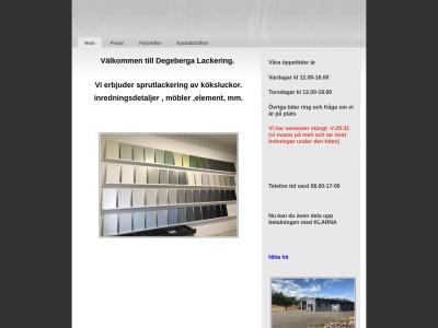 www.degebergalackering.se