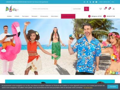 Deguizz.fr, déguisements adultes et enfants