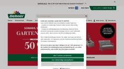 www.dehner.de Vorschau, Dehner GmbH & Co. KG