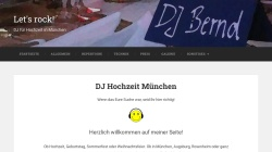 www.dejay-bernd.de Vorschau, DJ Bernd