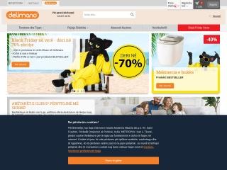 Foto ekrani për delimano.al