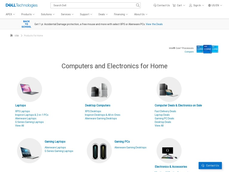 Dell Home & Home Office screenshot