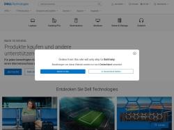 dell.de screenshot