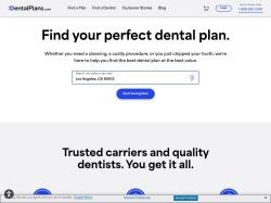DentalPlans.com screenshot