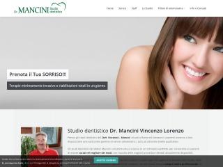 screenshot dentistaavezzano.it
